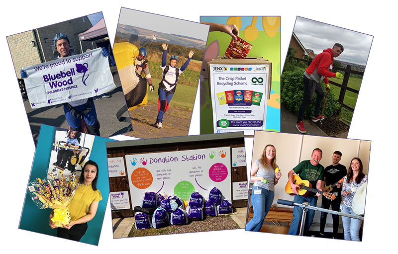 Charity of the Year collage