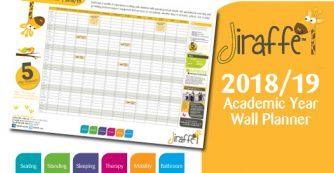 Jiraffe Academic Year Wall Planner