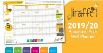 Jiraffe Academic Year Planner 2019/2020
